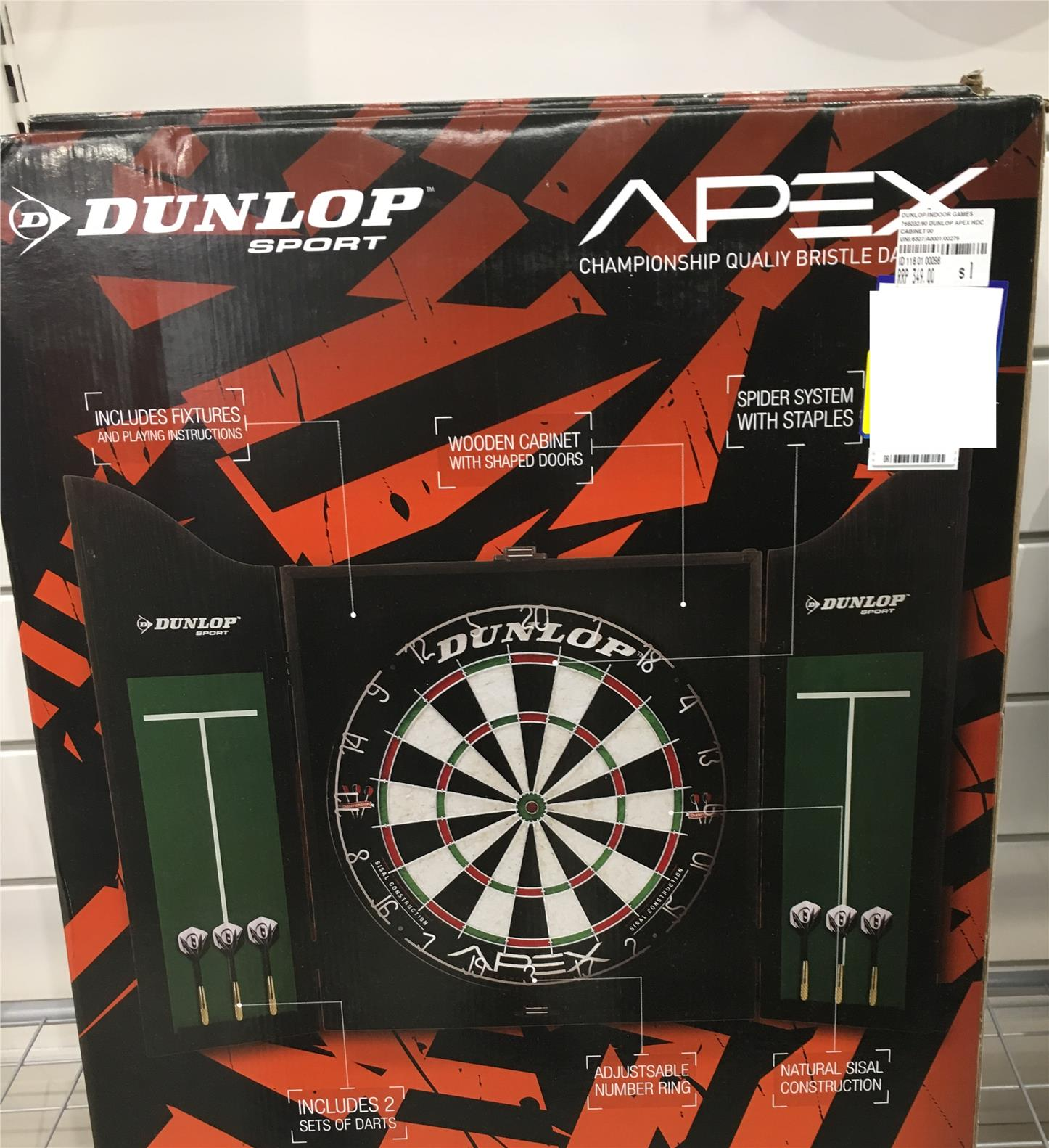 Dunlop 18 Inches Dart Board + Cabine (end 5/22/2018 2:15 AM)
