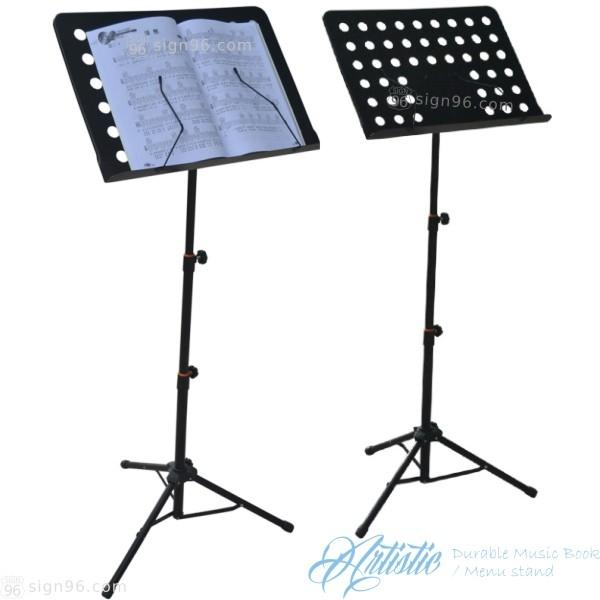 Durable Artistic Portable Music Book Holder Menu Stand Durable Display