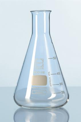 DURAN® Erlenmeyer Flask 1000ml with Graduation Germany- Conical flask