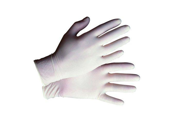 Durasafe Latex Disposable Glove-POWDERED FREE Size M 100pcs/box