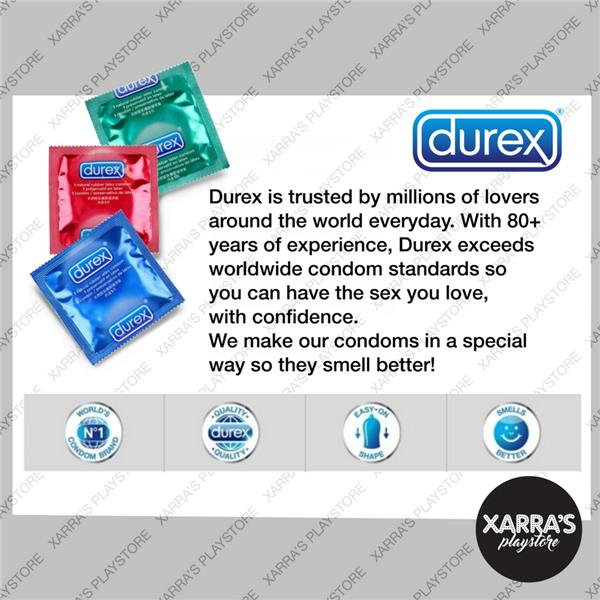Durex Excita Ribbed Condoms 12s x 3 Boxes