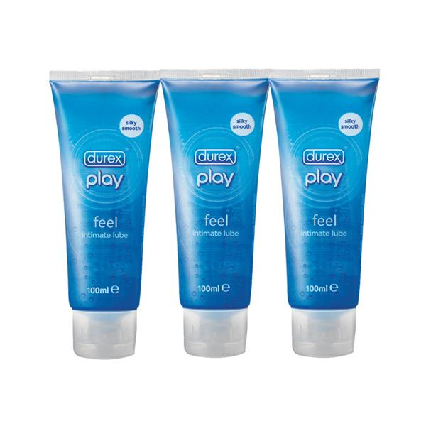Durex Play intimate lube 100ml X 3 tubes