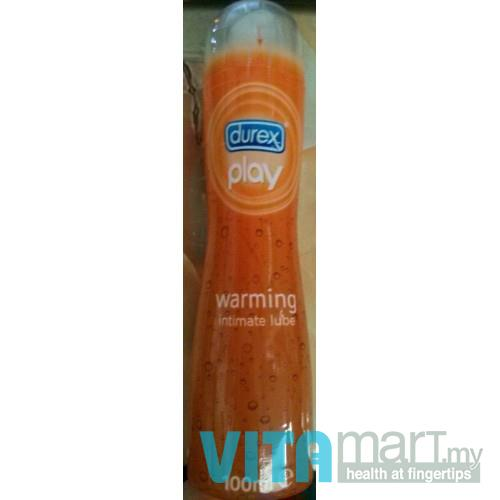 Durex Play Warming Intimate Lube 100ml