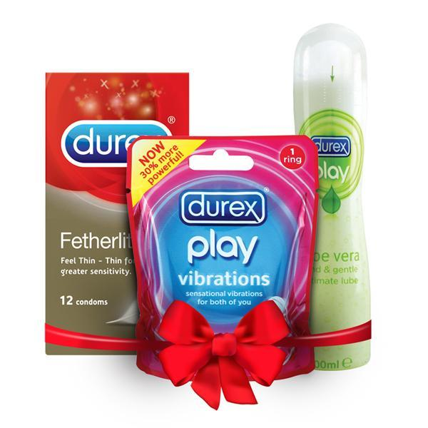 Durex A Two Way Trip Fetherlite/Play/Vibrations]