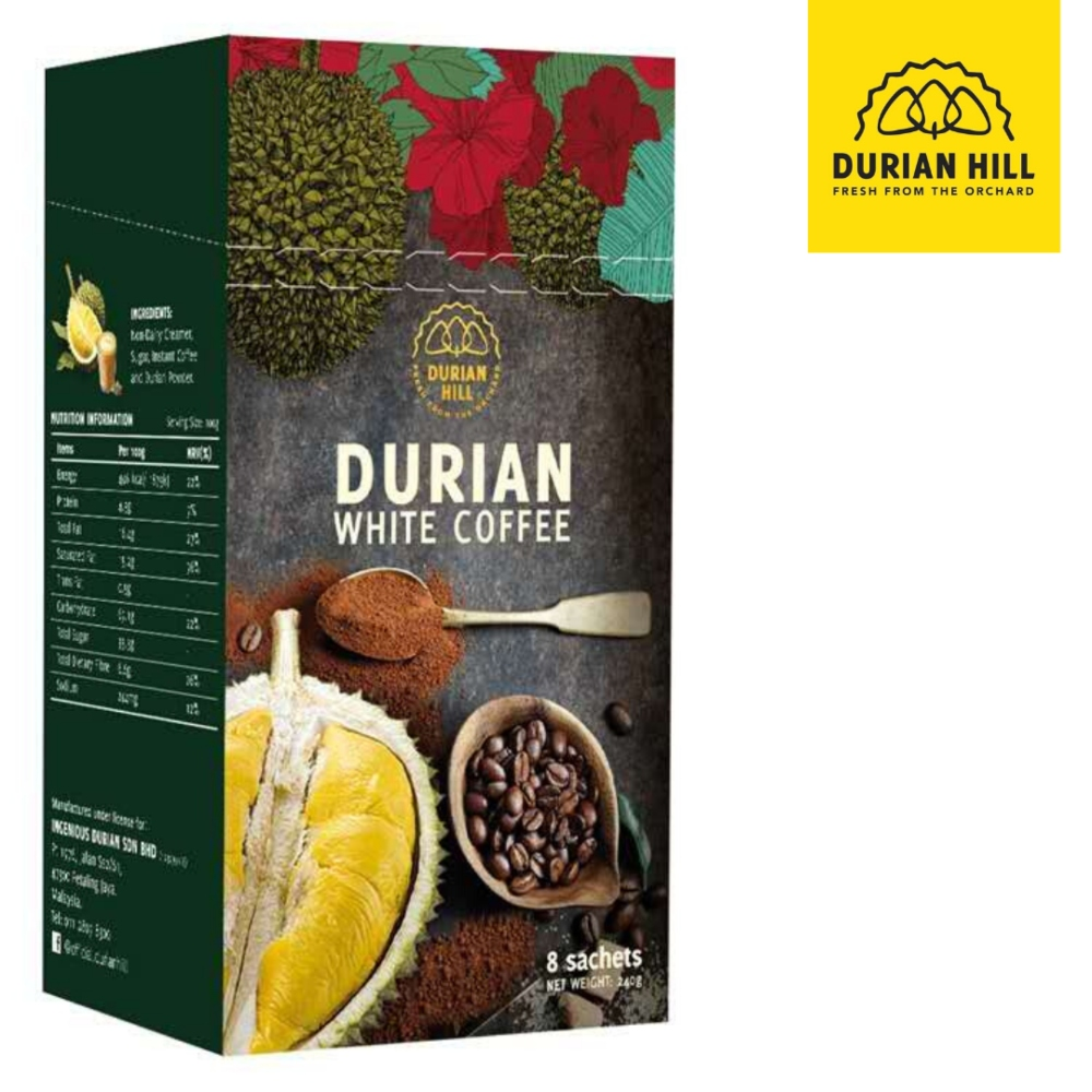 (Durian Hill) DURIAN WHITE COFFEE