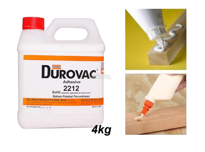 Durovac 2212 Strong Wood Bonding Adhesive (4KG)