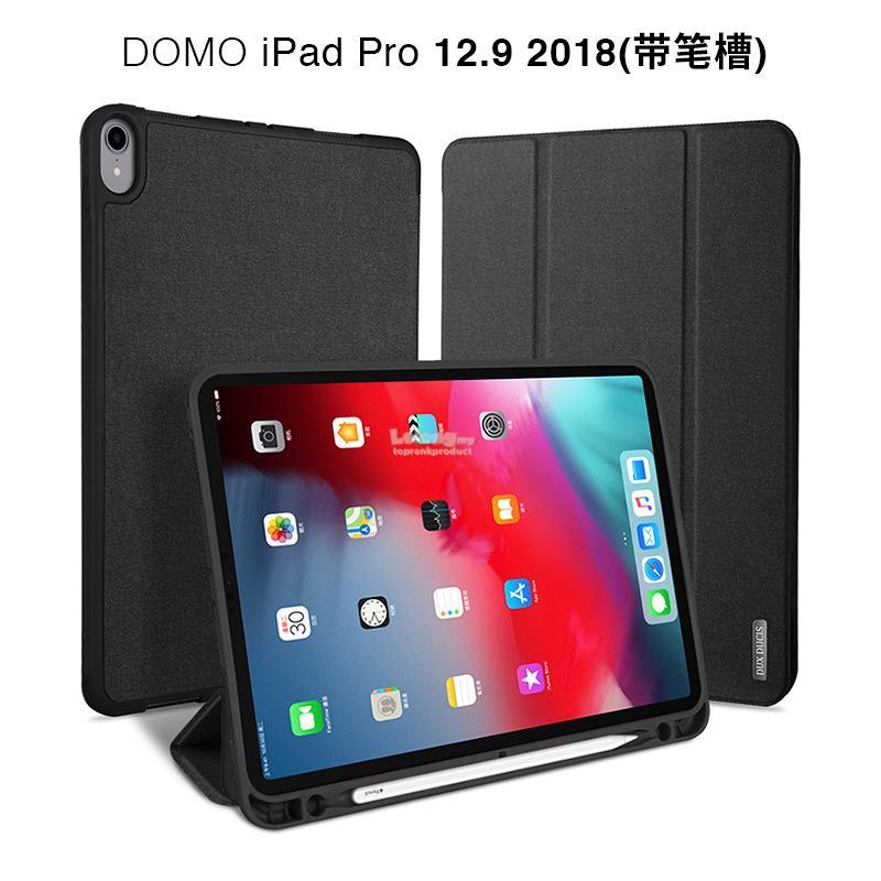 various colors 585a0 e5498 DUX DUCIS iPad Pro 12.9 2018 Flip Pen Holder Smart Case Cover Casing