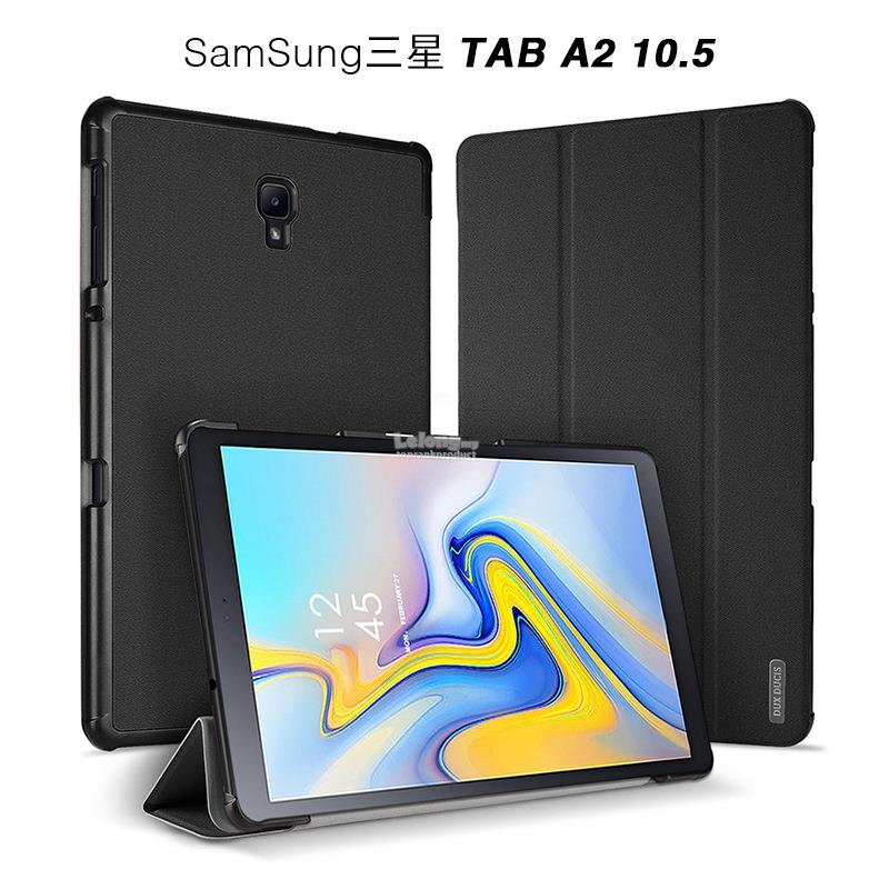 DUX DUCIS Samsung Galaxy Tab A 2018 10.5 Flip Smart Case Cover Casing
