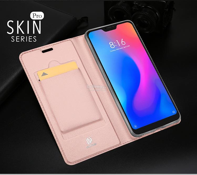 DUX DUCIS Xiaomi Redmi 6 6A Pro Flip Card Slot TPU Case Cover Casing