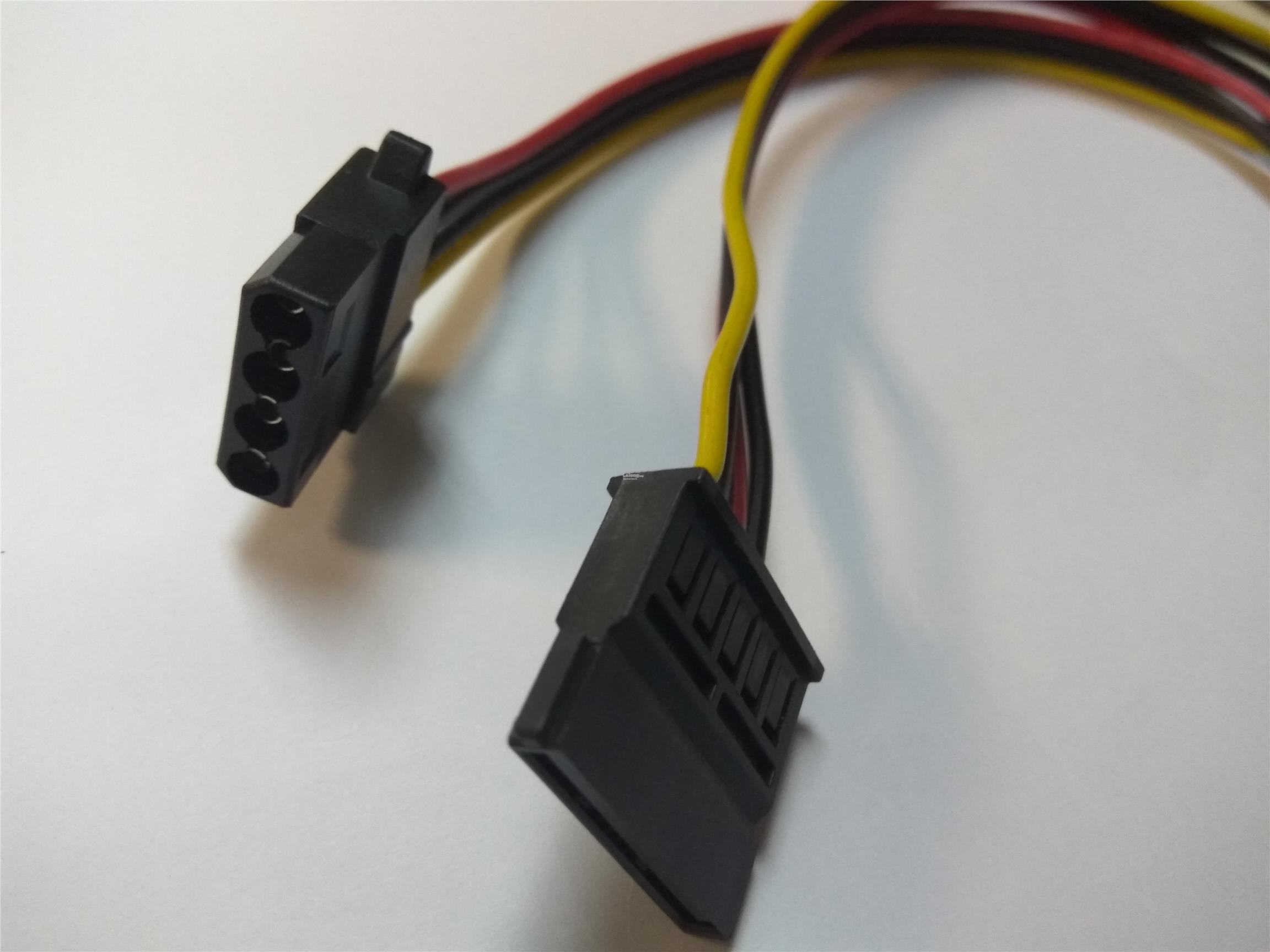 DVR HDD Power cable Sata (female) to 4P (female) 19cm