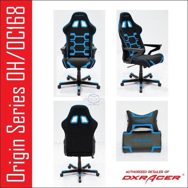 DXRACER OH/OC168 Origin Series PC Gaming Chair Blue