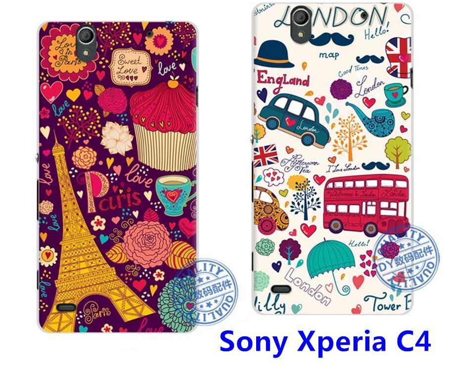 cheap for discount 369dc 606b3 DY Sony Xperia C4 3D Relief Cartoon Back Case Cover Casing + Free Gift