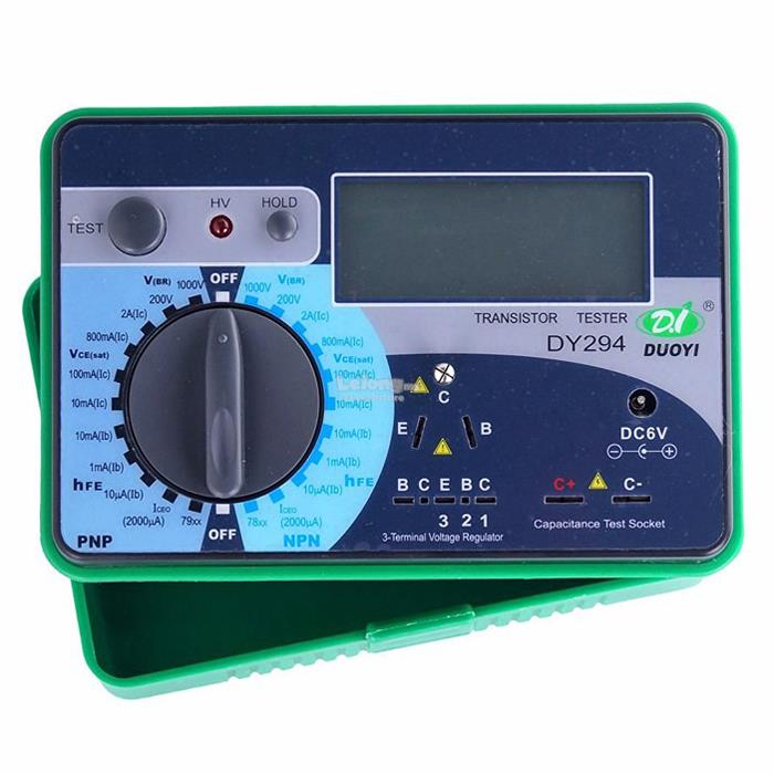 Semiconductor Test Equipment : Dy digital transistor tester semic end pm