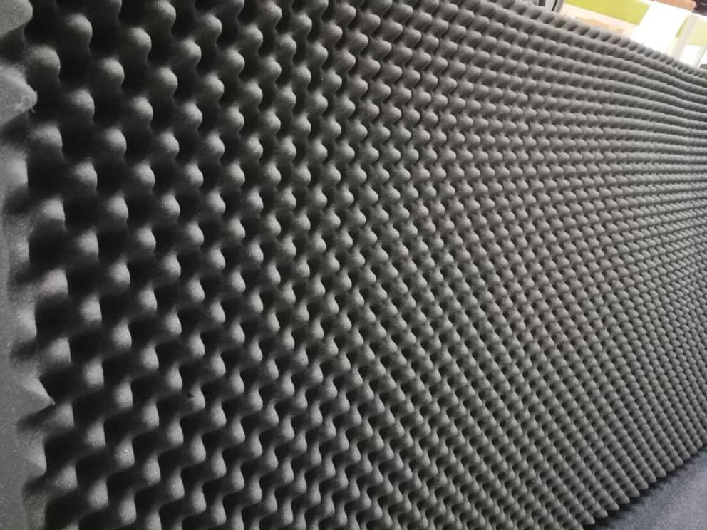 Dyno test room soundproofing sound proof foam stock reday