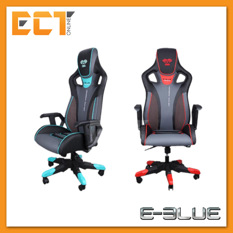 Superb E Blue Eec313 Cobra Iii Pu Leather Suede Pc Gaming Chair Red Blue Gmtry Best Dining Table And Chair Ideas Images Gmtryco