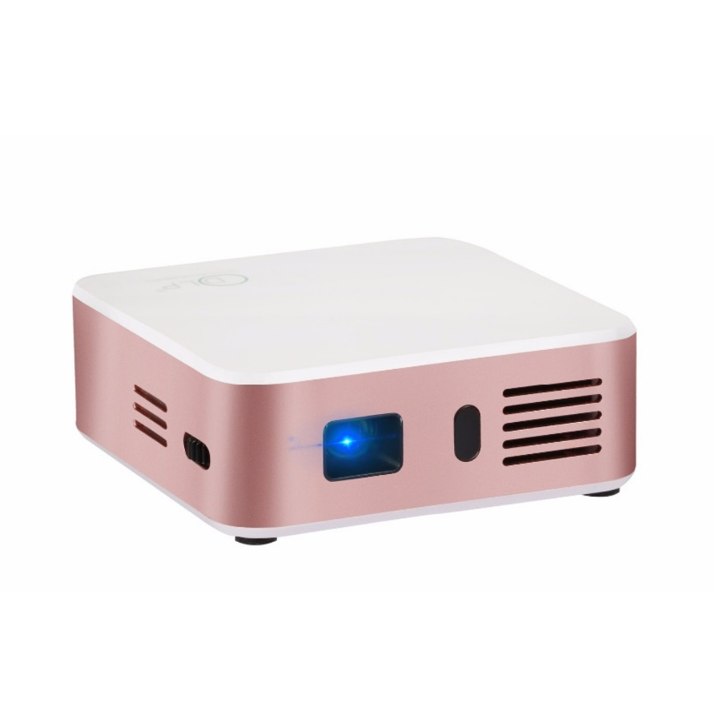 E05 Gold Portable Mini Full HD DLP Projector Home Cinema Theater HDMI ..