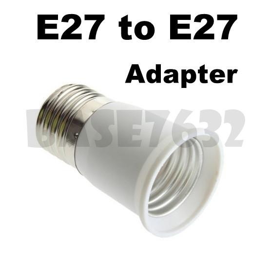E27 Male to E27 Female Socket Light Bulb Lamp Holder Adapter 1617.1