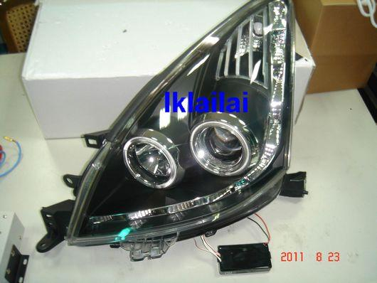 Eagle Eye Nissan Livina Projector CCFL Ring Head Lamp LED DRL R8