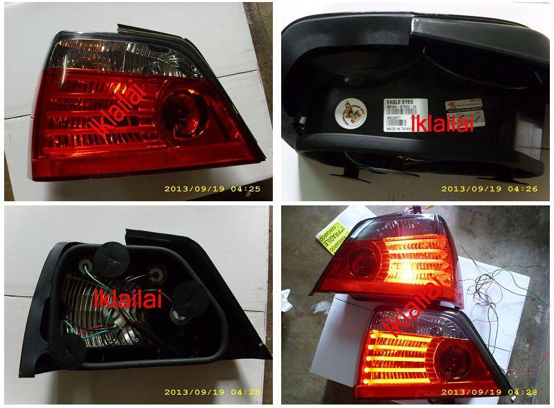 Eagle Eye Proton Waja LED Light Bar Tail Lamp [Smoke-Red]