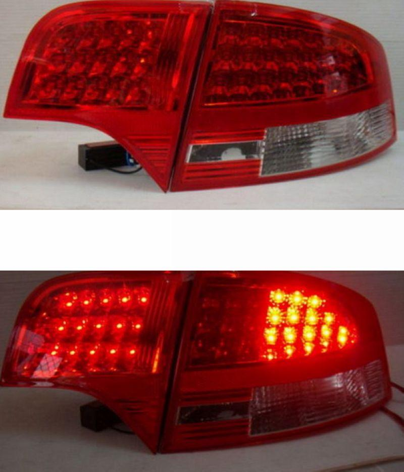EAGLE EYES AUDI A4 B7 '05-'08 Crystal LED Tail Lamp [Red/Smoke/Clear]