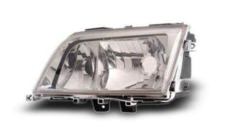 EAGLE EYES BENZ W202 '94-99 Crystal Head Lamp+Corner [HL-006-BENZ]