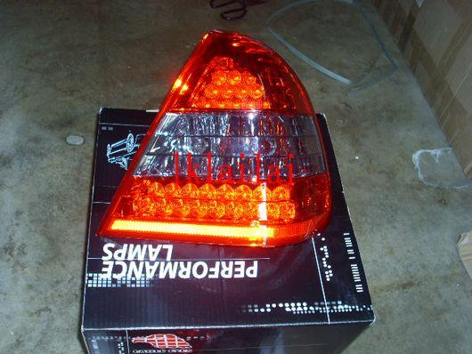 EAGLE EYES BENZ W202 '94-99 LED Tail Lamp RED/SMOKE [TL-010-BENZ-1]