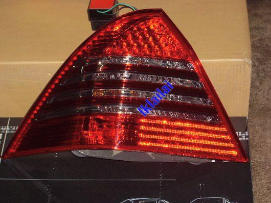 EAGLE EYES BENZ W203 '00-03 RED/SMOKE Crystal Tail Lamp [TL-006-2]