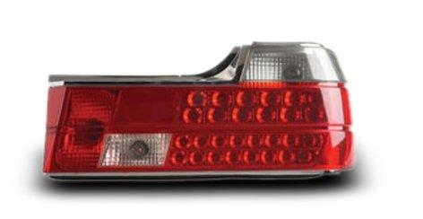 EAGLE EYES BMW E32 '88-94 RED/CLEAR LED Tail Lamp [TL-014-BMW]