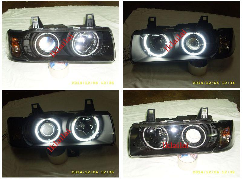 EAGLE EYES BMW E36 2D / 4D CCFL Ring Projector Head Lamp