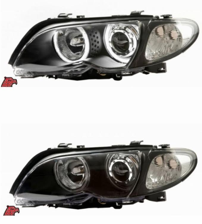 EAGLE EYES BMW E46 2D/4D '02-05 LED Projector Head Lamp +Corner