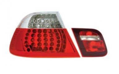 EAGLE EYES BMW  E46 4D M3 '02-05 LED Tail Lamp+Back Lamp
