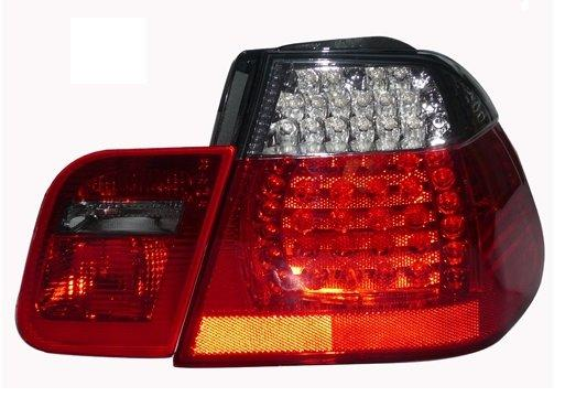 EAGLE EYES BMW E46 4D M3 '02-05 SMOKE LED Tail Lamp + Back Lamp