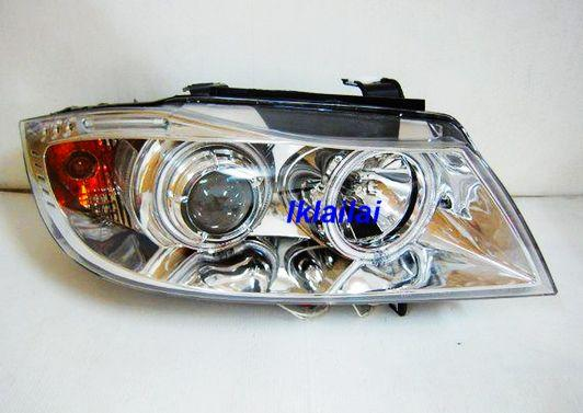 EAGLE EYES  E90 4D '06-09 CCFL Chrome Projector Head Lamp [HL-020-1]