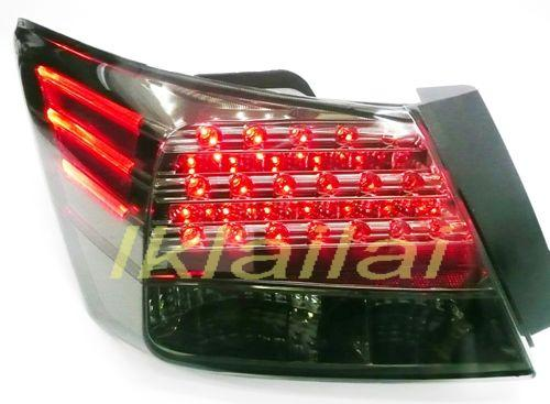 EAGLE EYES HONDA ACCORD 4D '08-09 RED/SMOKE LED Tail Lamp [TL-147-2]