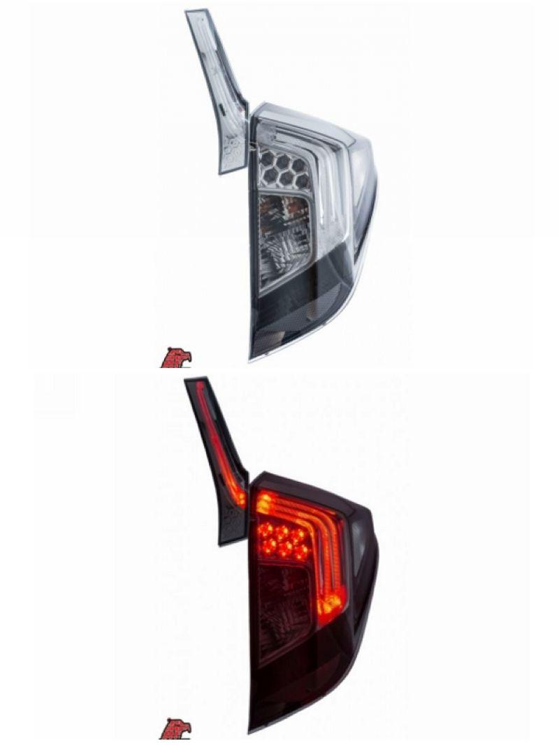 EAGLE EYES Honda Jazz / Fit '14-15 LED Tail Lamp Smoke