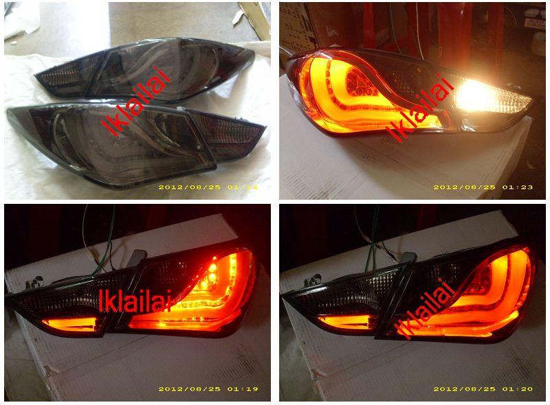 EAGLE EYES HYUNDAI SONATA '11 LED LIGHT BAR TAIL LAMP [TL-192-1]
