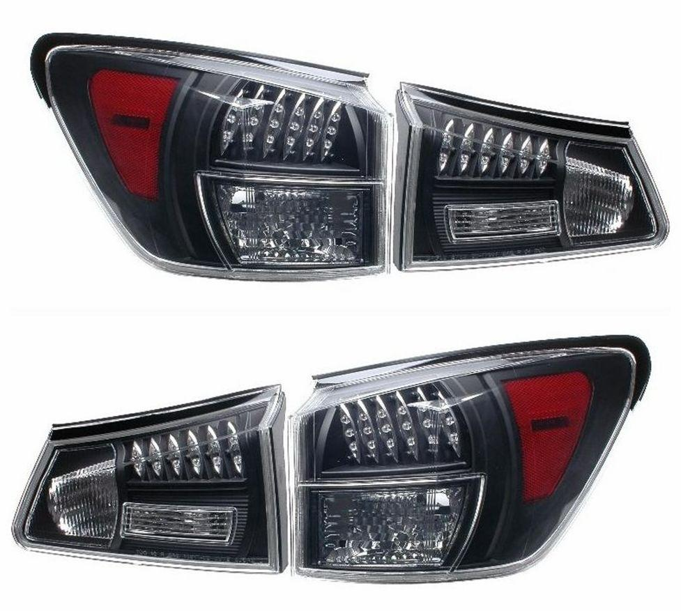 EAGLE EYES LEXUS IS250/IS350 '06-08 Black LED Tail Lamp