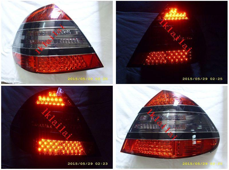 EAGLE EYES MERCEDES BENZ W211 '03-05 RED/SMOKE LED Tail Lamp