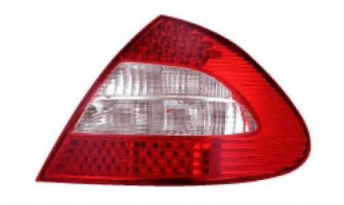 EAGLE EYES MERCEDES BENZ W211 '06-07 RED/CLEAR LED Tail Lamp TL-023-BE