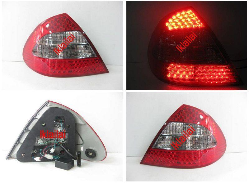 EAGLE EYES MERCEDES BENZ W211 '06-07 RED/SMOKE LED Tail Lamp TL-023-BE