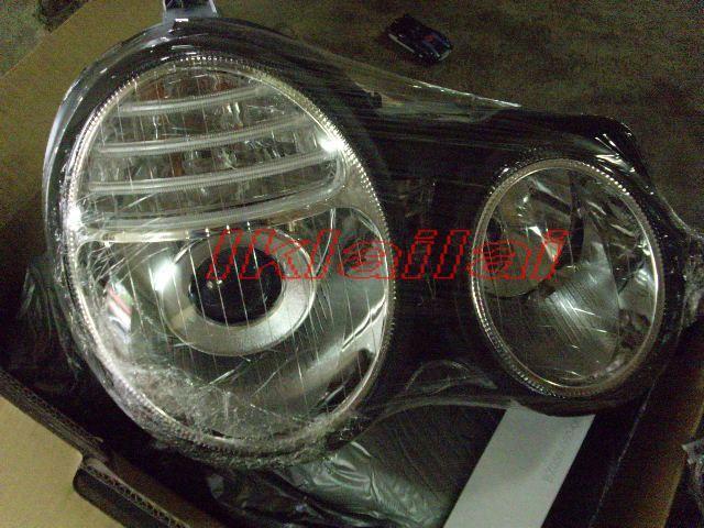 EAGLE EYES Mercedes W210 '95-'98 CCFL Projector Head Lamp HL-030-BENZ