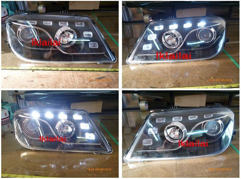 Eagle Eyes Proton Waja Projector Head Lamp [R8 DRL] [HL-132]