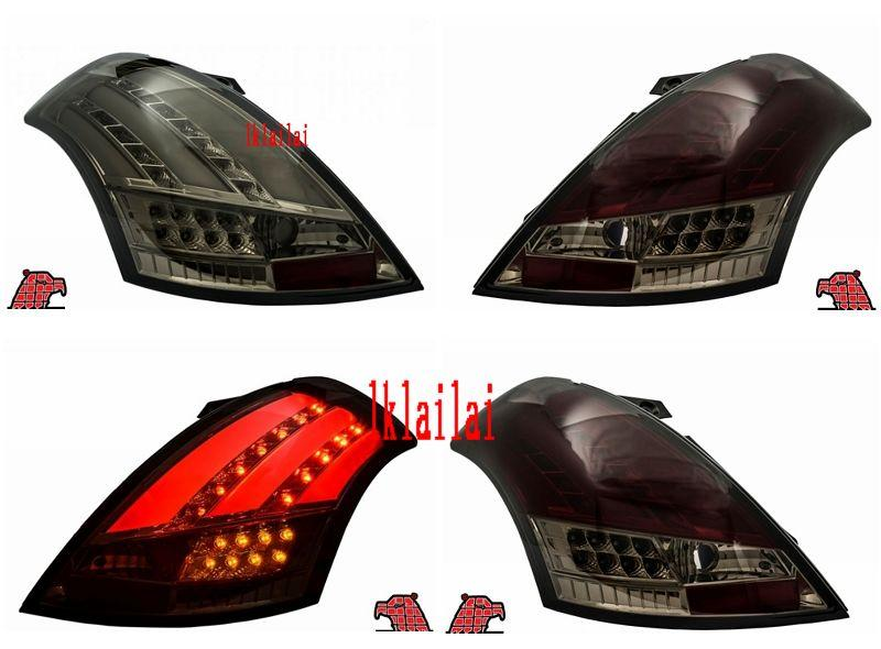 EAGLE EYES Suzuki Swift '12 LED + GCi Light Bar Tail Lamp