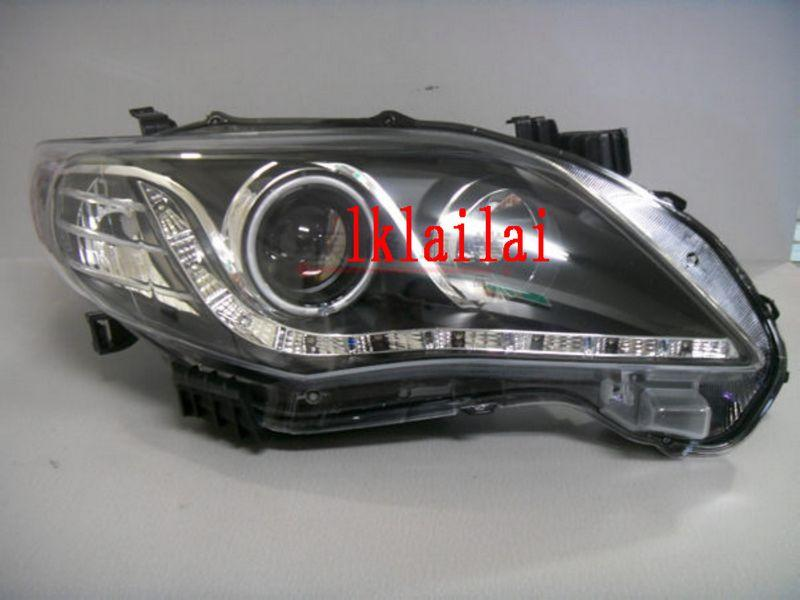 EAGLE EYES TOYOTA ALTIS '11 LED Projector Head Lamp with LED Day Light
