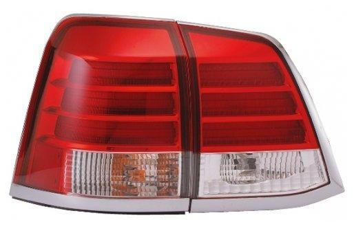 EAGLE EYES TOYOTA LANDCRUISER '08 FJ200 RED/CLEAR LED Tail Lamp [TL-15