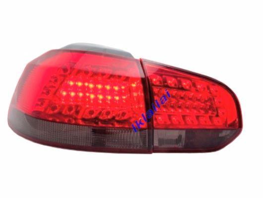 EAGLE EYES VOLKSWAGEN GOLF 6 MK6 09-11 Red/Smoke LED Tail Lamp [TL-171