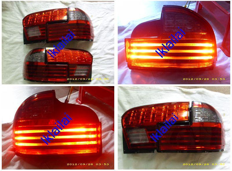 EAGLE EYES WIRA GCi LIGHT BAR TAIL LAMP & BACK LAMP (RED Smoke Lens)