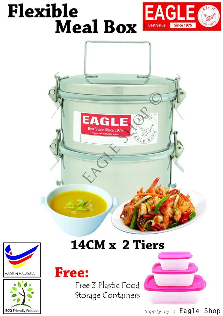 EAGLE Flexible Meal Box14cm x 2 tier end 272019 215 PM