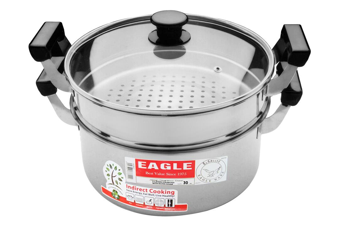 8149d020de EAGLE Stainless Steel 2 Layer Steamer (end 1 6 2019 4 15 PM)