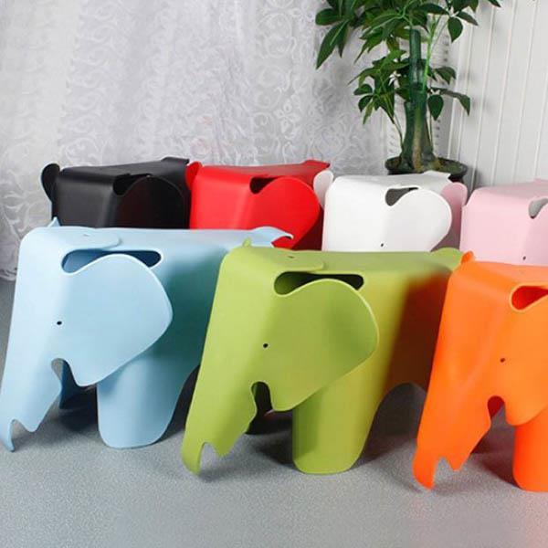 Eames Elephant Kids Stool Children Chair